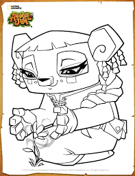 Small Picture Animal Jam Coloring Pages Bunny Coloring Coloring Pages