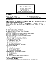 Ultimate Petroleum Geologist Resume Objective With Additional Resume