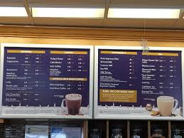 Refreshing ice blended drinks, unique teas, and quality coffees: Coffee Bean And Tea Leaf Menu