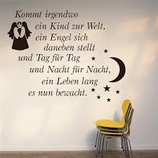 German Quotes Mesmerizing German Quotes Wall Sticker Living Bedroom Decoration 48 Angel