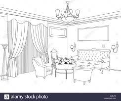 architectural design blueprint. Furniture Blueprint. Architectural Design. Living Room Design Blueprint R