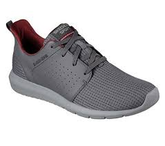 skechers shoes for men price. 52390 charcoal skechers shoes men memory foam sport mesh leather comfort casual 10.5 | ebay for price