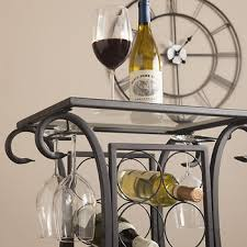 wine rack table. SEI Newman Wine Rack Table With Glass Top Item: 76222   Model: OC251400BJ