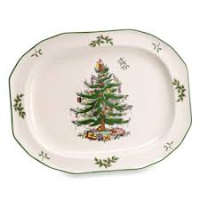 spode christmas tree 14inch sculpted oval platter spode christmas tree china d99