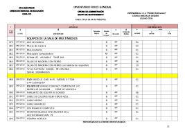 Inventario Fisico Aip 2013