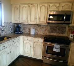 drop gorgeous most natty off white cabinets grey wood grain french washed distressed kitchen