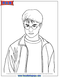 Small Picture Harry Potter Deathly Hallows Coloring Page kid crafts