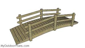 arched garden bridge free diy plans myoutdoorplans free woodworking plans and projects diy shed wooden playhouse pergola bbq