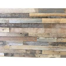 reclaimed barnwood brown natural 3 8 in thick x 2 in w x