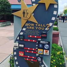Universal Studios Height Chart As You Walk Into Universal Orlando Islands Of Adventure They