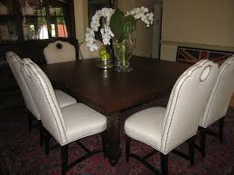 dining room superb parsons dining chairs modern white leather