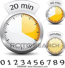 How To Make A One Minute Timer Clip Art Of Vector Timer Easy Change Time Every One Minute