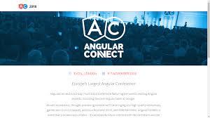 Design Conference 2017 Europe Europes Largest Angular Conference Web Designer Mall