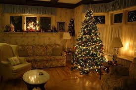 Xmas Living Room Christmas Living Room Waplag Modern Decoration With Lights