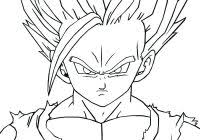 Dragon Ball Z Ultra Instinct Coloring Pages Printable Coloring