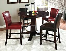 round counter height dining set round counter height table and chairs dining table with regard to