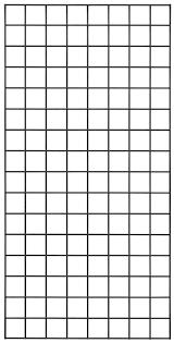 2 x 4 black wire grid panel heavy