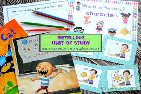 Story Elements Kindergarten Anchor Chart Retelling Unit Of Study The Kinder Corner