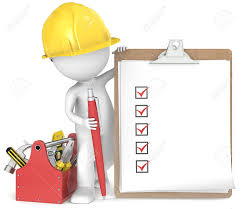 Image result for residential construction checklist clipart