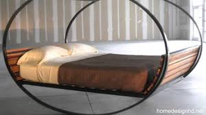 Cool beds gallery - semi-circular wooden bed