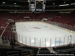 Pnc Arena Seating Chart Post Malone Pnc Arena View From Lower Level 128 Vivid Seats
