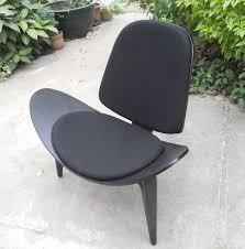 wooden furniture garden chair hans jwegner black fabric three legged shell chair ch177 natural side chair walnut ash