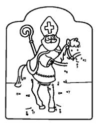 Sinterklaas Is Jarig Sinterklaas Kleurboek 7 Met Kleurplaat