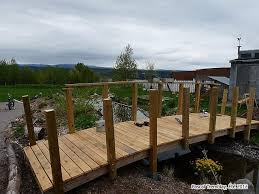 10 steps for building a garden bridge