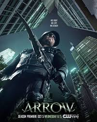 View Arrow - Season 5 (2016) TV Series poster on Ganool