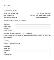 Blank And Easy To Use Staff Or Employment Verification Letter