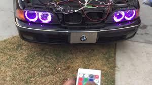 How To Install Multi Color Angel Eyes Halo Rings Led Rgb Bmw 5 Series 3 Series E39 528i 328i M5 M3