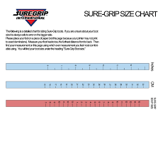 Speed Skate Size Chart Sure Grip Boot Sizing Chart