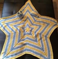 Crochet Star Afghan Pattern