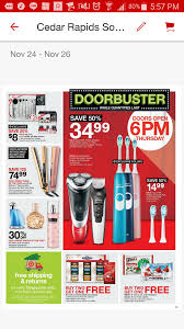 screengrab of the target 2016 black friday preview ad