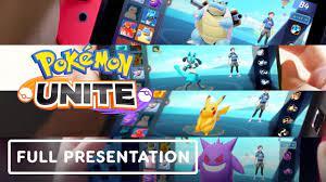Pokemon Unite - Full Gameplay Presentation - YouTube