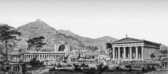 Реферат на тему Олимпийские игры  Олимпия в эпоху античных игр Организация Олимпийских игр