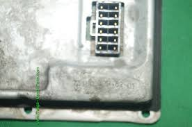valeo velarc ladg hid xenon headlight ballast pin porsche saab click image to supersize