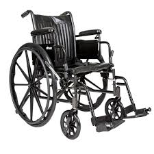 Drive Cruiser II Standard Hemi Wheelchair   Standard Wheelchair