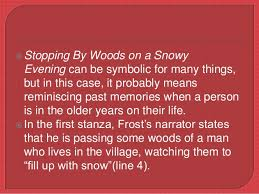 literary devices used in stopping by woods on a snowy evening  5  stopping by woods on a snowy evening