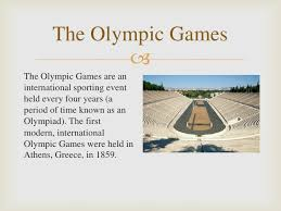 research the olympic games and a host city full presentation 9 the olympic games