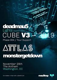 The Anthem Seating Chart Dc Deadmau5 Cube V3 2019 Tour Tickets The Anthem