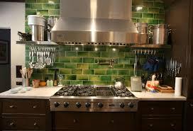 Glass Kitchen Backsplash Modern Style Kitchen Backsplash Glass Tile Green Lime Green Glass