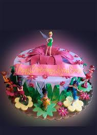 Tinkerbell Birthday Cake Sweet Somethings Desserts