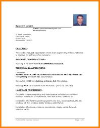 10 Word Format Resume Job Apply Form