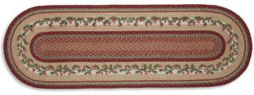 cranberry jute braided table runner artist harry smith