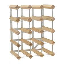 wood metal wine rack. Brilliant Rack 15 Bottles Wood And Metal Wine Rack For Bottle Organizer Idea Throughout Wood Metal Wine Rack