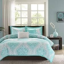 full queen teal turquoise aqua blue