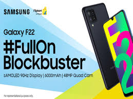 Samsung Galaxy F22 to launch in India on July 6, Flipkart availability  confirmed - Times of India