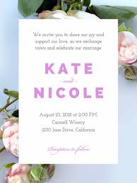 Make Your Own Wedding Invitations For Free Adobe Spark