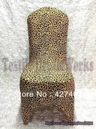 leopard office chair. Leopard Chair New Products Hot Sale Print Cover Arch Front For Wedding Decoration Party Office